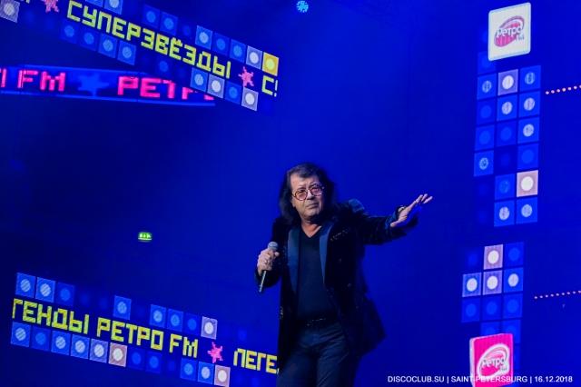Легенды Ретро FM 2018. Санкт-Петербург. Отчет Дискоклуба